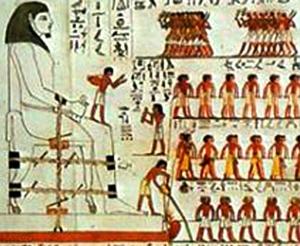 A água pode ter facilitado o trabalho dos antigos egípcios!